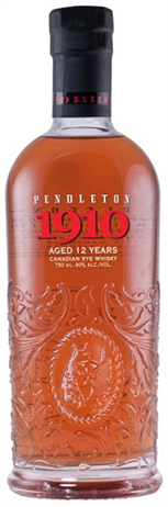 Pendleton Canadian Whiskey 1910 12 Year